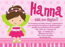 Resultado De Imagen Para Texto Invitacion Baby Shower Baby