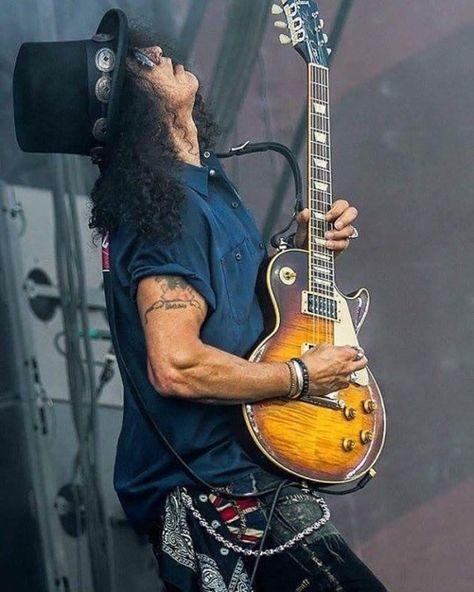 Slash / Guns and Fuckin' Roses /Gibson LP Marshall