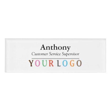 name badge magnet custom