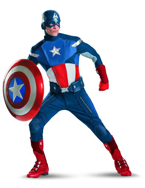 Adult Sized Captain America Laplander Hat Costume Accessory NEW The Avengers