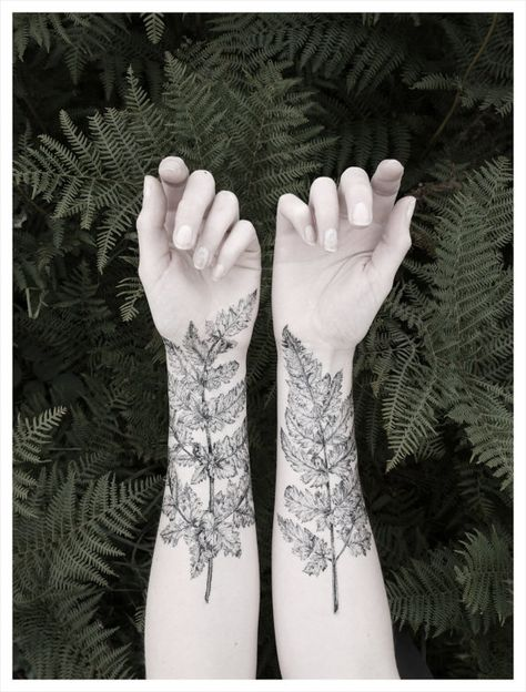 Incredibly artful temporary tattoos from Victoria's Aviary.