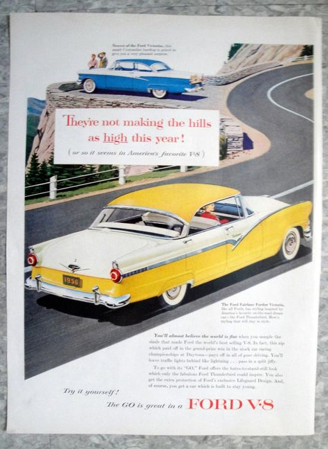 Pin On Vintage Ford Ads