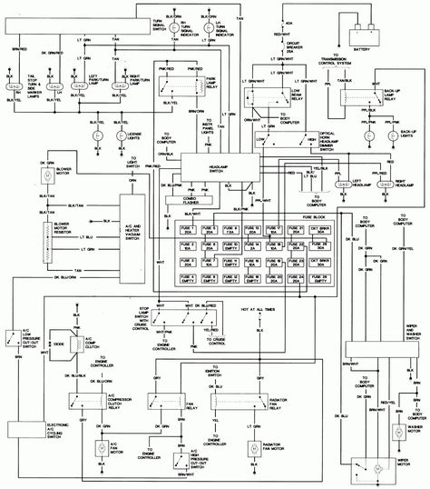 Repair Guides Wiring Diagrams Wiring Diagrams Autozone inside