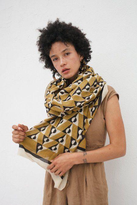 Womens Art Deco Print Scarf