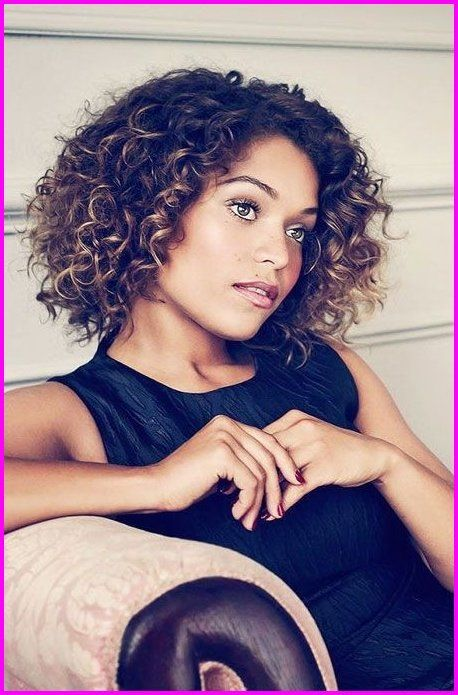 Best Short Haircuts For Curly Hair Round Face 2019 Short