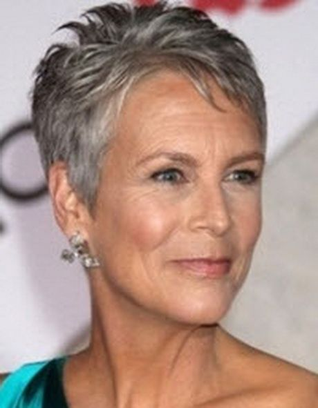 Hairstyles Jamie Lee Curtis Gray Hair Growing Out Grey Hair Inspiration Short Grey Hair