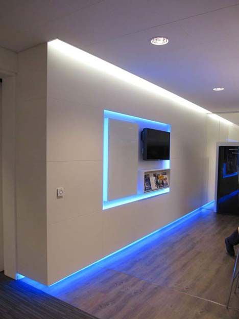 Image Result For Led Tape In Doorways Game Room Lighting Home Lighting Design Led Room Lighting