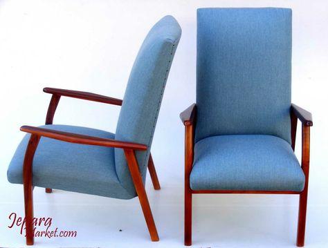 armchair retro style sangat cocok untuk melengkapi