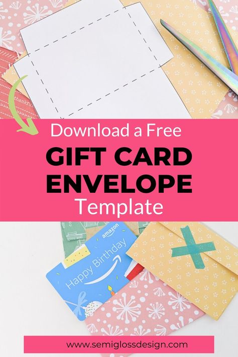 Gift Card Holder Template Free Printable Template Gift Card Envelope Template Gift Card Envelope Gift Card Holder Template