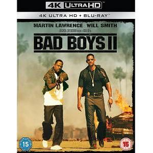 Bad Boys Ii 2 Disc 4k Ultra Hd In 2020 Will Smith Bad Boys Bad Boys Michael Bay