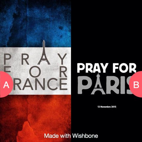 Which pray for paris wallpaper??? Click here to vote @ http://getwishboneapp.com/share/19638162