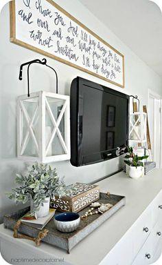 Best 25+ Dresser top decor ideas on Pinterest | Dresser styling ...