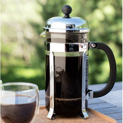 Bodum Bodum Chambord French Press Coffee Maker Stainless Steel French Press Coffee Maker Thermal Coffee Maker