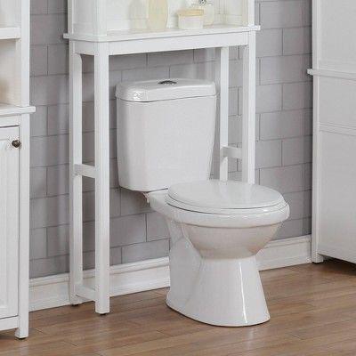 Dorset Over The Toilet Etagere White