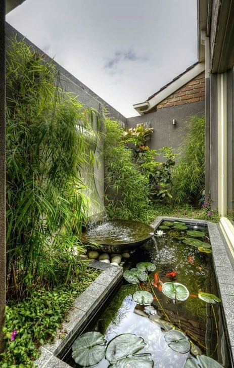 48 Brilliant Indoor Fish Pond Design Ideas For Small Spaces To Have