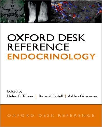 Oxford Desk Reference Endocrinology Pdf Free Pdf Epub Medical Books Reference Books Medical