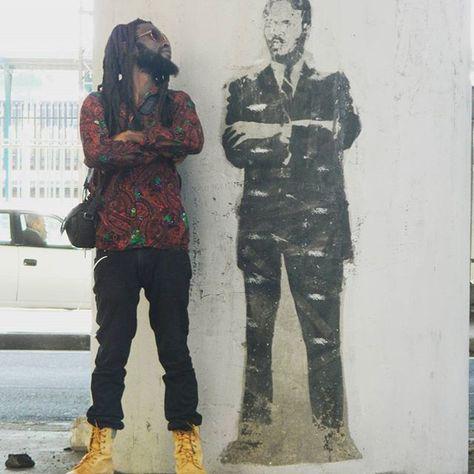 Steve Biko  #africanart #africa #beardie #beardgang #beards #beard #beardo #bearddragon #Punk#afropunk2017 #afropunk #dreadlockstyle #dreadlocksdaily #dreadlocks # #dread #stevebikoday #stevebiko#photoshooting #photography#photoshooting #photoshoot #photographer #photo #streetwise #onelove❤ #WireKigali
