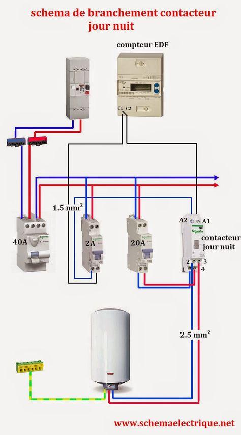 89 Idées De Electricite électricité Câblage électrique Schéma électrique