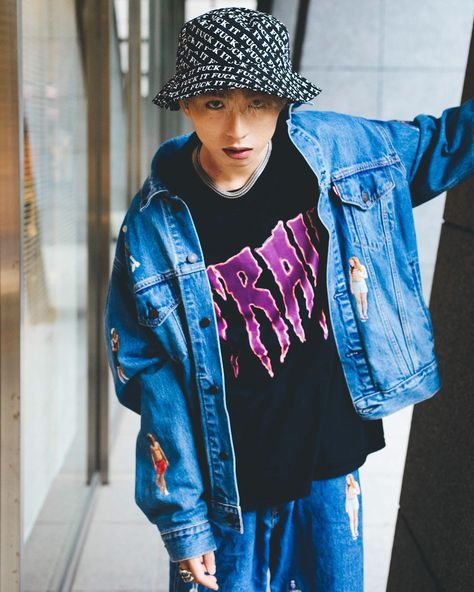 breakthrough music for 2019 13 kvi baba 今回はアルバムの制作秘話に加えて kvi babaという若者の内面にも迫った breakthrough music kvibaba fashion denim jacket denim