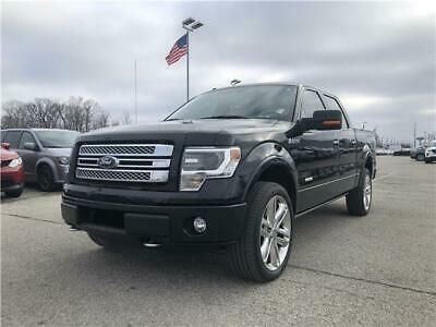 Ebay Advertisement 2013 Ford F 150 Limited 2013 Ford F 150 Limited 3 5l V6 4x4 Black Crew Cab Truck No Reserve In 2020 Ford F150 Crew Cab Ford
