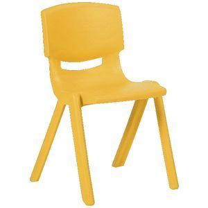 Studymate Young Stacking Chair 360mm Yellow Kids Table And Chairs Stacking Chairs Chair