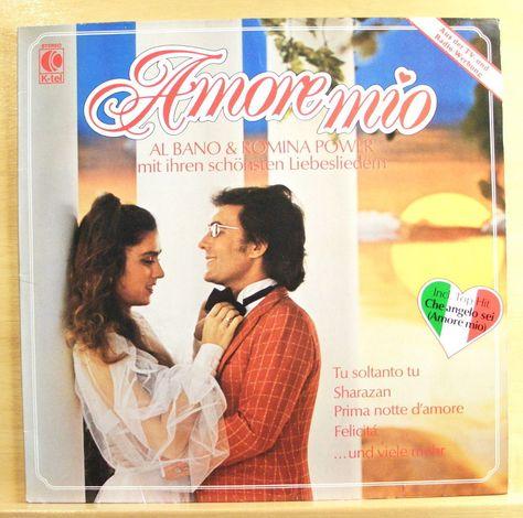 Al Bano Romina Power Amore Mio Mint Minus Vinyl Lp Italo