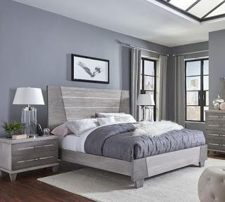 Grey Wash Bedroom Furniture | Trend Home\'s di 2019 | Ide ...