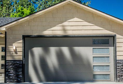 Modern Garage Door Garage Door Side Windows Modern Garage Doors