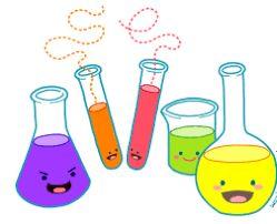 نتيجة بحث الصور عن دورق كرتون تجارب كيمياء Chemistry Clip Art Science