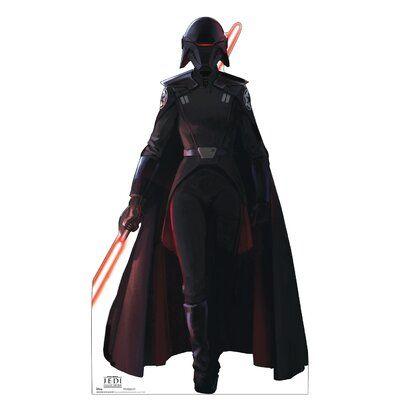 Advanced Graphics Inquisitor Jedi Fallen Order Disney Lucas Films Cardboard Standup Star Wars Jedi Jedi Outfit Advanced Graphics