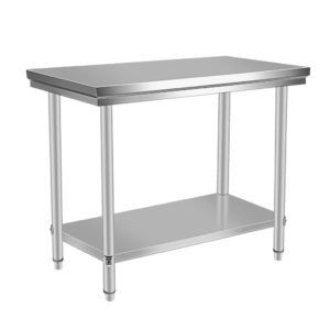 24 X 48 Stainless Steel Table Brew Area Work Table 82 95 Free Shipping H Stainless Steel Kitchen Table Stainless Steel Work Table Kitchen Work Tables