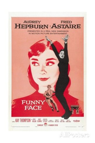 Funny Face, 1957, Directed by Stanley Donen Giclee Print at AllPosters.com