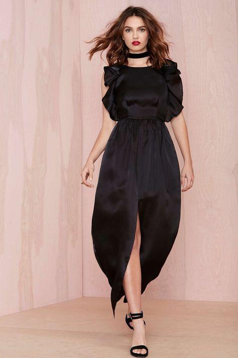 Keepsake Falling For You Silk Dress