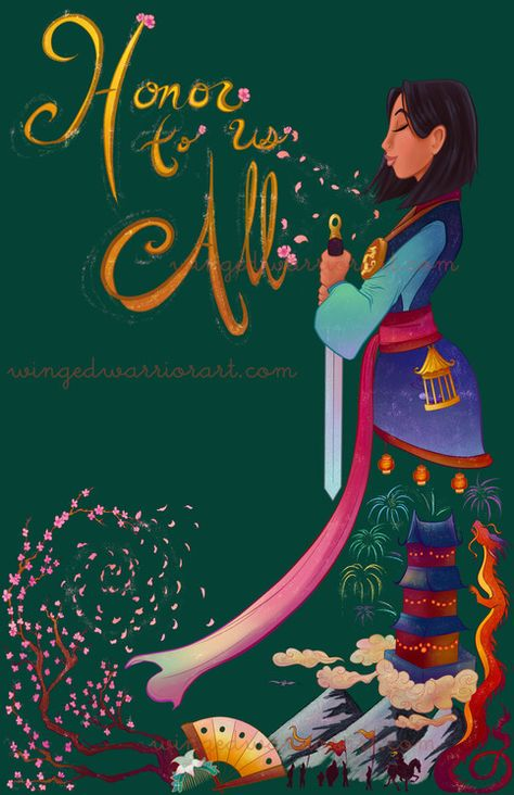 Bring+Honor+to+your+home+and+family+with+this+Mulan+print! This+is+an+11x17+print+on+high-quality+semi-gloss+cardstock,+full+bleed.+ Watermark+will+NOT+be+on+the+printed+version. Shipped+in+a+protected+sleeve+in+between+cardboard+backing+or+in+a+hard+poster+tube,+guaranteed+to+get+ther...