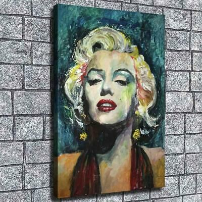 """HD Canvas Print Paintings Marilyn Monroe Home Decor Wall Art Pictures 12/""""x18/"""""""