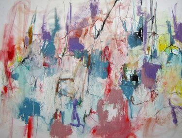Saatchi Online Artist Mary Ann Wakeley Painting Present Tense Art Art Saatchi Art Painting