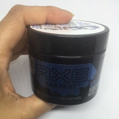 Axe Hair Paint Styling Paste Blue Temporary Hair Color 2 30 Fl Oz 65 G New In 2020 Axe Hair Products Temporary Hair Color Hair Painting