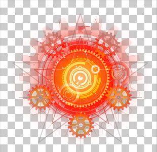 Light Magic Magic Light Effects Orange And Red Mechanism Illustratiojnm Png Clipart Light Magic Clip Art Neon Png