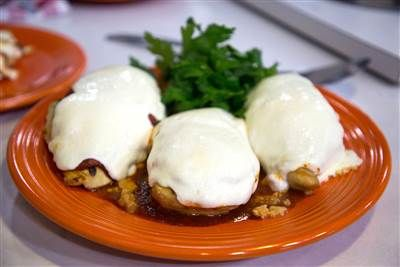 Make Sunny Anderson S Grilled Chicken Parm With Just 5 Ingredients Chicken Parmesan Chicken Parmesan Recipes Food Network Recipes