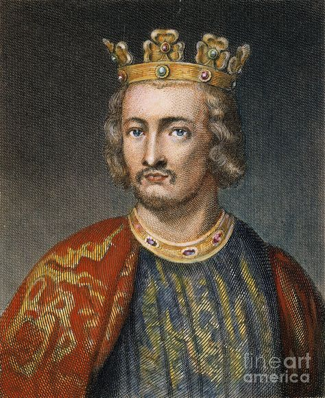 On  this day 24th December, 1166,  King John was born. Youngest son of Henry II, who was forced by the barons to sign the Magna Carta. When he tried to revoke his authorization civil war broke out. He was jokingly nicknamed 'Lackland' as it seemed unlikely that John would ever inherit substantial lands.