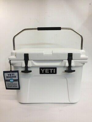 Advertisement Ebay Yeti Coolers Roadie 20 Qt Cooler White Le Rae Pbr028654 In 2020 Yeti Coolers Cooler Yeti Cooler