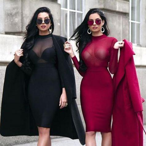 Sexy Long Sleeve Sheer Mesh Bodysuit Transparent Stretch Playsuit Leot – myshoponline.com
