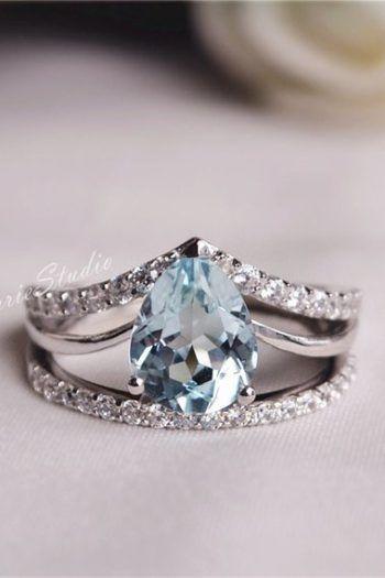 Aquamarine Jewelry For Sale Aquamarine Jewelry Gemstone Engagement Rings Unique Diamond Rings
