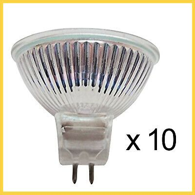 10 Pcs Long Life Mr16 Bi Pin Type 12v 20w Emergency Light Bulb Durable Bright In 2020 Emergency Lighting Lighting And Ceiling Fans Bulb