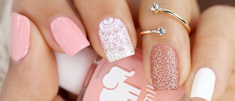 Who doesn't love pink nails? We have picked some nail designs in pink shades that look simply adorable. Check them out here.