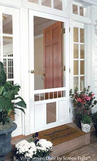 An Exterior Screen Door Brings The Outside In. Pet Screen DoorScreen DoorsScreen  ...