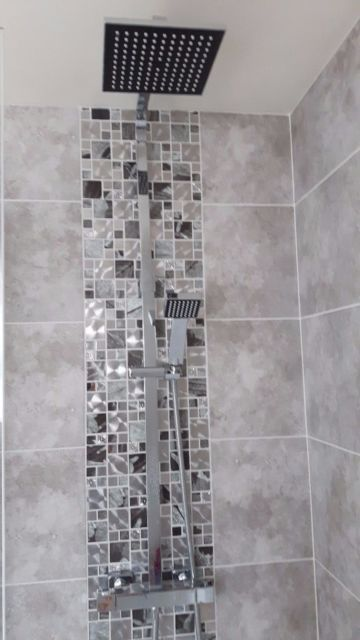 Found On Google From Ebay Co Uk Chrome Bathroom Patterned Bathroom Tiles Bathroom Renovation Trends