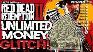 TRUE UNLIMITED MONEY GLITCH - VERY EASY AFK - RED DEAD REDEMPTION 2