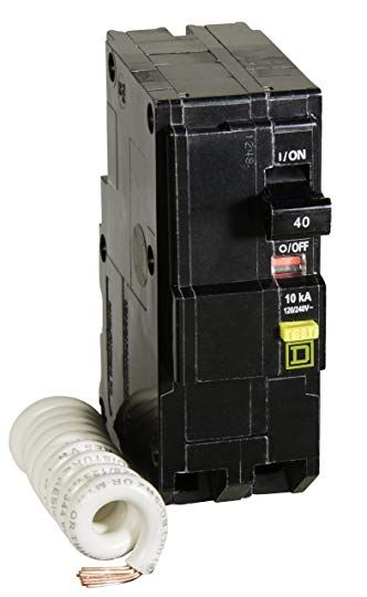 NEW Square D Circuit Box 100A Outdoor QO2100NRBCP Enclosed