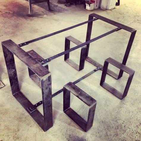 Flat Metal Table and Bench Frames                                                                                                                                                                                 More